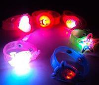 Our birthday party is decorated supplies LED flash watch cartoon wristwatch birthday glow bracelets