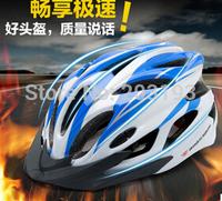 Free shipping 2014 HOT!!!  women/men  road bike bicycle cycling helmet EPS+PC helmets  bicycle bike