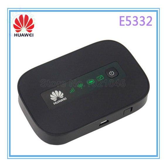 HUAWEI E5332 mifi 3G WiFi Router Mobile WiFi Hotspot 3G Router HSPA+/HSPA/UMTS: 2100 900 MHz(China (Mainland))