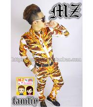 Bigbang Rights Zhi Long GD Catwalk Models In Europe And America Platinum Trousers Shirt Nightclub Costumes