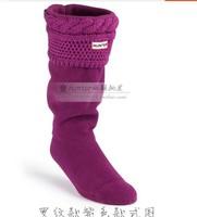 New fashion women men socks rib Wool rain boots socks winter rain boots matching socks items only socks size 35-44