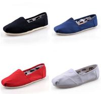 new shoes women 2014 Fashion Canvas Shoes large size 35-45 Unisex Casual Canvas Shoes women men flats shoes