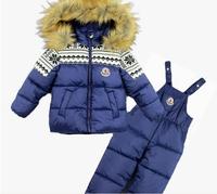 2014 High quality ski set Children's suits kid snow outdoor wear set Windproof ski jackets+pant boy and girl ski set for 1-4Y