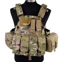 Airsoft Military Tactical Wargame 1000D US Navy Seals Molle LBT 6094 Vest High Quality Nylon Vest BLACK/TAN/WL/OD/MC