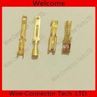 100 pairs/lot full copper 2.8mm Male&Female Crimp terminal Connectors, 2.8mm terminals,car connector Spade terminal