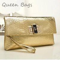 Popular 2015 New arrival Women sexy party Handbag Famous brand messenger Bag Female  crocodile grain Clutch Bag  S4645