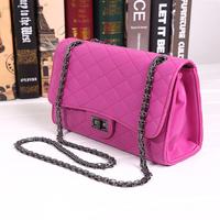 Chain 2014 plaid cross-body bag mini bag women's small sachet women's handbag shoulder bag