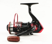 2014 Gapless Spinning Fishing Reel 4000 Series 11BB Left/Right Interchangeable Spool Aluminum Pesca Free Shipping