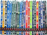 FREE SHIPPING Football&Baseball&MLB 32 Teams Key Lanyard  Mobile neck strap Whlesalers Mix color