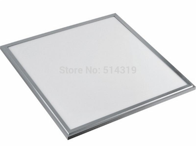 6pcs Free Shipping Square LED Panel light 600x600 mm SMD2835 36W 60x60 ceiling lights Aluminum focus led+LED Driver(China (Mainland))