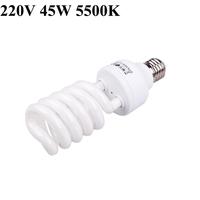 Photo Studio E27 220V 5500K 45W Bulb Energy Saving Video Photography Daylight Light Lamp