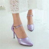 2014 HOT sale Sweet Sexy Women high heels Belt Buckle High Heel Shoesf for Women