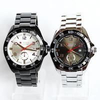 CURREN Men Quartz Watches Men Sports Watches Waterproof  Military Wristwatches Men Full Stainless Steel Watch Casual Clock