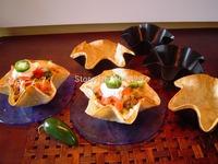 """36set/Lot 4 Lot Tortilla 6"""" Taco Salad Shell Bowl Maker Baking Mold Non Stick Pan Pot  Free Shipping"""