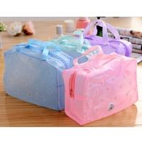 Makeup Bag Handbag Toiletry Bathing Transparent Pouch Case Waterproof Bag
