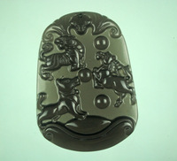 Details about 100% Natural Hand-carved Jewelry Jade Pendants Pendant Necklaces as a gift about tiger horse dog