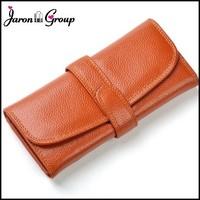Jaron Group Genuine Leather Women Wallet Leather Purse Small Chain Shoulder Bag Female Clutch Bag Designer Carteira Feminina