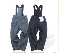 original  children's clothes  cotton trousers  big children's waterproof  ski straps trousers,  Sledventure pants
