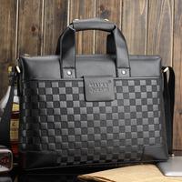 2014 New Men briefcase Bag Luxury Business Shoulder bags Men messenger bags Elegant Design Brand Travel Bag Genuine PU Leather
