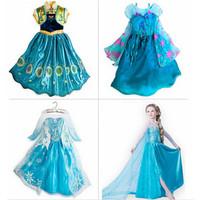 Girls dress, European & American fashion  Elsa dress, Snowflakes sequined dress, animated cartoon dress, Beautiful dress