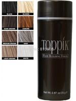 10pcs/lot Salon Toppik Fiber Hair Loss Thinning Conceal Refill 25g Keratin Building Powders Styling Instant Restore 10colors