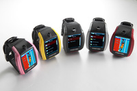 Free Shipping! wearable device watch phone F6 1.8'' touch screen MP3 Player Smartwatch