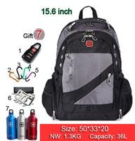 New Hot high quality Swiss Army business shoulder bag 15.6 / 17 inch computer bag schoolbag men women fashion tide bags SW836-03