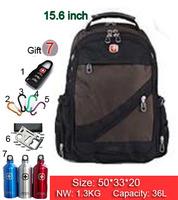 New Hot high quality Swiss Army business shoulder bag 15.6 / 17 inch computer bag schoolbag men women fashion tide bags SW836-04