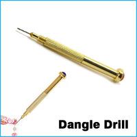 Nail Art Hand Dangle Drill Hole Maker Dotting Pen Uv Gel Acrylic Tip Piercing Tool