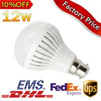 10pcs/lot Hot Sale B22 LED Lamp3W 5W 7W 9W 12W LED Bulb 110/220V light 120 degree led spotlight lamp