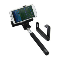 Free shipping 10pcs Z07-5 Universal Bluetooth Wireless Monopod Handheld Mobile Phone Holder for ios android Smartphone Cradle