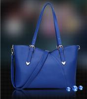 New arrived 2015 Europestyle women solid zipper ruffles genuine leather cow split luxury medium shoulder bag bolsa de ombro 9