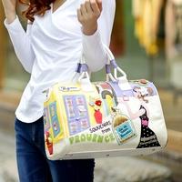 Colorant match handbag one shoulder cross-body  braccialini bag 2014 casual fashion vintage fashion women's handbag bags