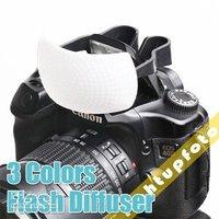 3pcs Flash Diffuser Soft Box Diffuser for DSLR Internal Flash PFD5