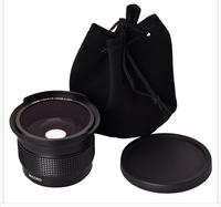 52mm conversion lens converter lens fisheye macro lens for nikon D3100 D3200 18-55MM