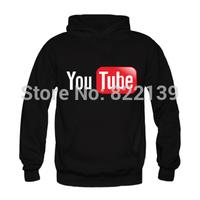 Merry Christmas 2014 New Design Men's Custom Hoodies Youtube Hoodies Printed Letter Sweatshirts for Men Women Pullover