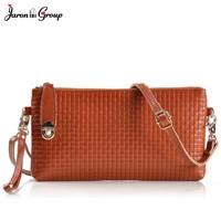 Jaron Group Women Handbag Genuine Leather Wallet Small Leather Shoulder Bag Ladies Clutch Bag Designer Bolsas Feminina