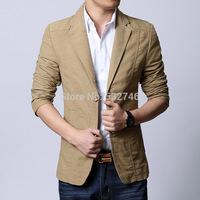 Fashion blazer Cheap Wholesale Men Slim casual Korean version of casual men's suit jacket suit coat D062blaser_Man fashion blaze