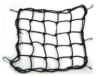 5017 no tracking number 30*30CM off-road Motorcycle accessories 6 Hooks Motorcycle Bungee Cargo Net Rack luggage net Helmet net