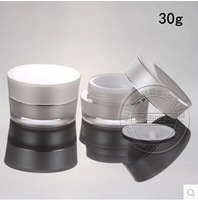 5C2 30G white ACRYLIC cone-shape cream jar ,Cosmetic Jar,Cosmetic Packaging