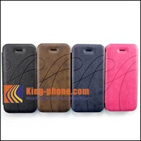Pearl series hot Leather Case for iphone 5/5s