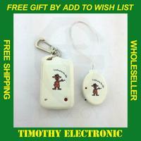 1PC FREE SHIPPING White Electronic ANTI-LOST Security Reminder Alarm children cartoon type#EC151