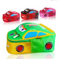 Free Shipping! Hot! Children School bag, Character Printing Backpack, Cartoon Bag for Kids, 4 Colors Shoulder Bag