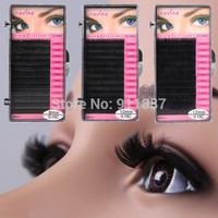 12 Pairs Women Fashion Makeup Handmade Black Natural Long False Eyelashes Eye Lashes Extension New