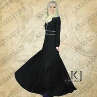 free shipping ladies muslim dress fancy dubai abaya high quality elegant Islamic abaya islamic dress