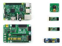 Raspberry Pi Model B+ and Expansion Board + AD DA Board + L3G4200D + LSM303DLHC + Camera