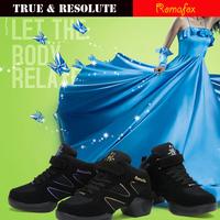 Mezlito Modern Women's Shoe Jazz Hip Hop Dance Sneakers Dancing Shoes Sports Feature Soft Outsole Breath Sneakers Practice Shoes