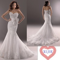 Latest High Quality Designer Wedding Dresses Custom Size Sweetheart Mermaid Wedding Gown Free Shipping ---- AA178