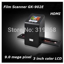 """Hi Resolution 9 Mega Pixels 135 Negative film scanner 35mm Film Scanner Digital Film Converter with 3.0"""" LCD,black Color(China (Mainland))"""