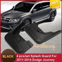 Mudguard Fenders Car Mudguard ABS Black car guard door Splash Mudguard For 2011-2014 D-o-d-g-e Journey